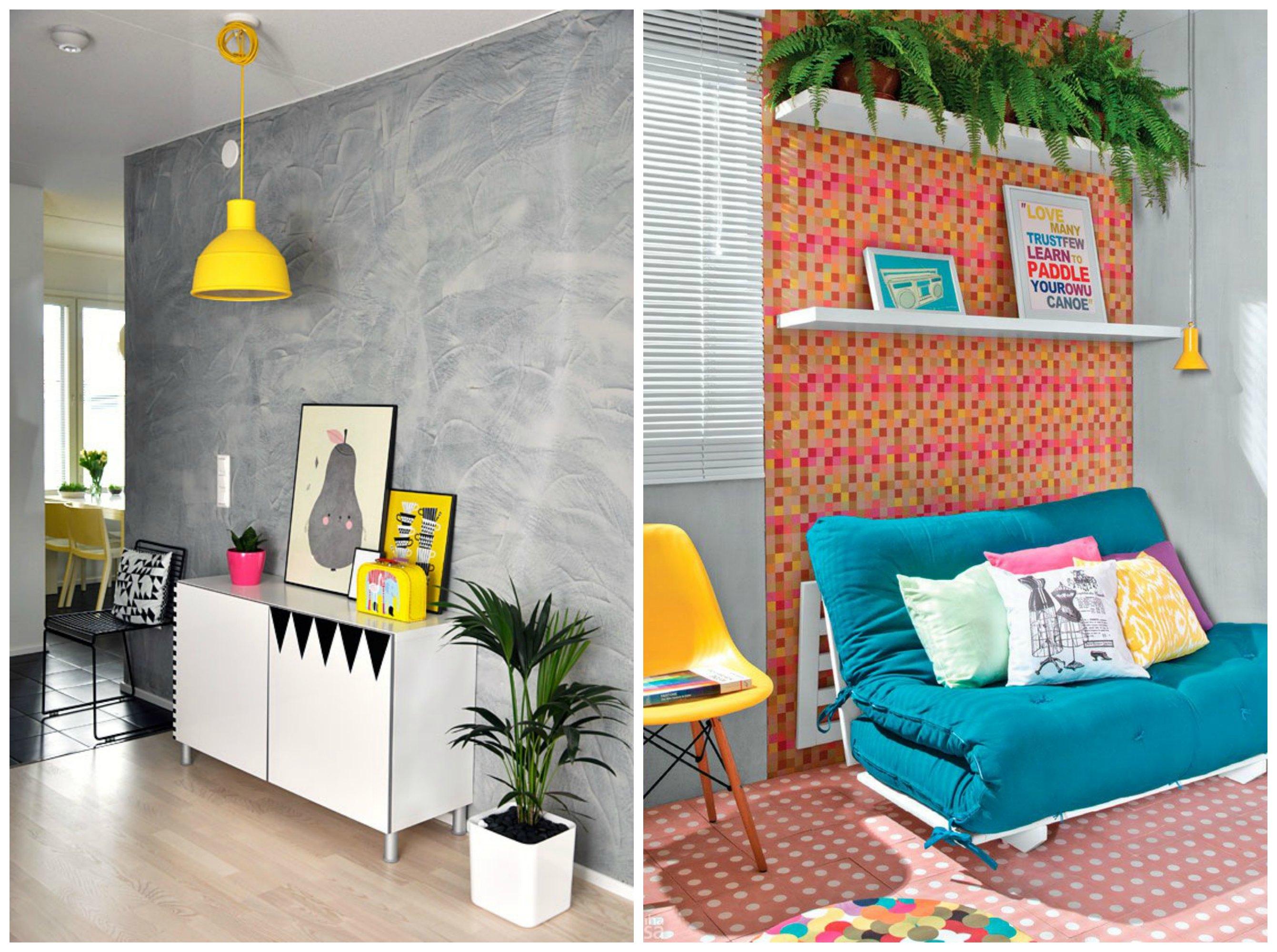 Decoracao Para Sala Simples Decorao Marrom De Sala Simples  -> Decoracao De Sala De Estar Pequena E Barata