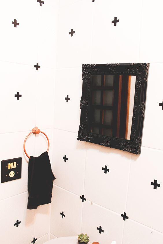 adesivo de parede cruzeta