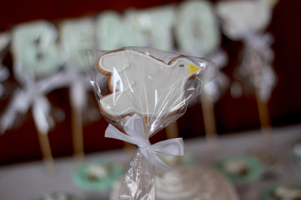 batizado biscoito doces