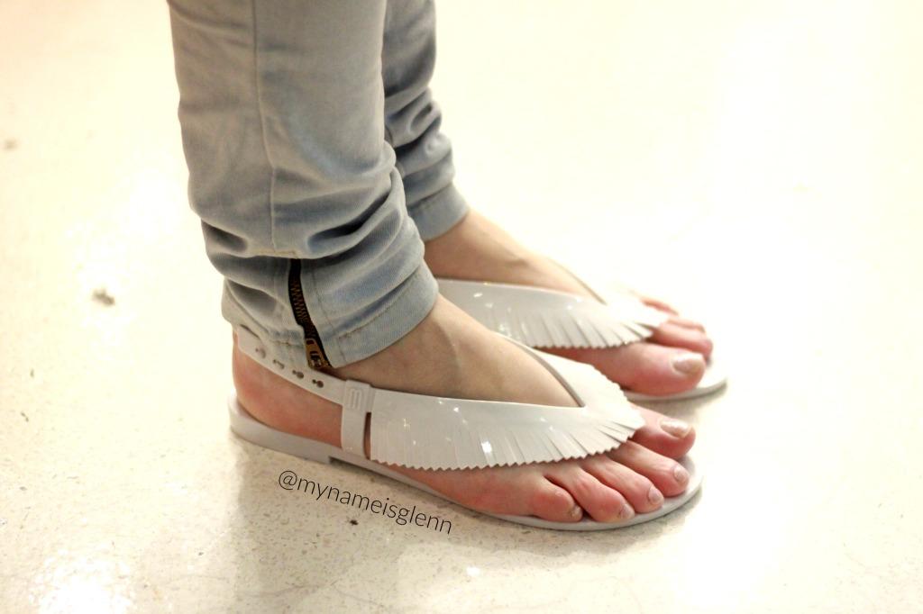 melissa harmonic sandal salinas mash up