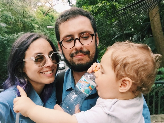 Glena, Lucas e Bento