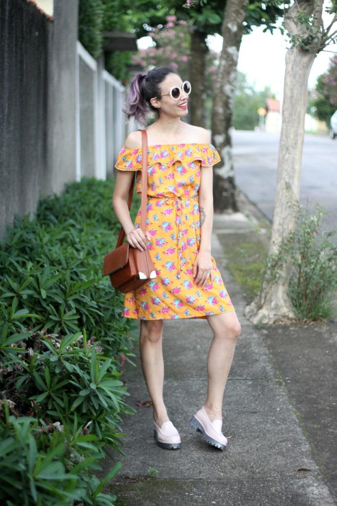 look vestido dolarice + melissa panapana